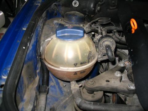 Chladič Škoda Fabia